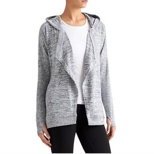 Athleta721640 Blissful Open Front Hooded Wrap